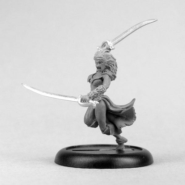 Bombshell Miniatures: Thorga the Half Orc