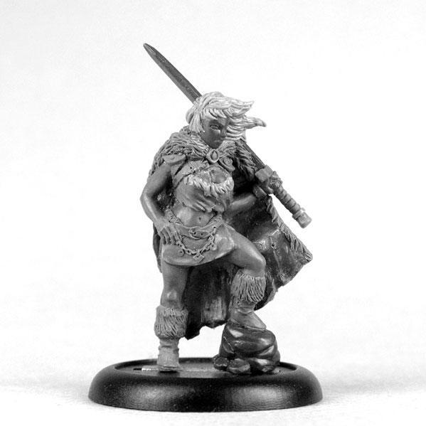 Bombshell Miniatures: Ronja the Barbarian