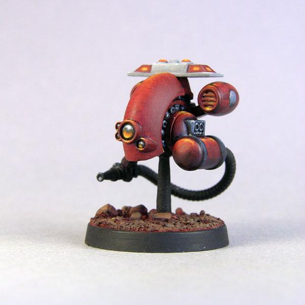 Bombshell Miniatures: Fire Bot