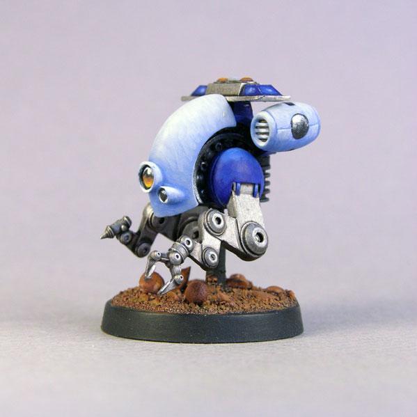 Bombshell Miniatures: EMT Bot