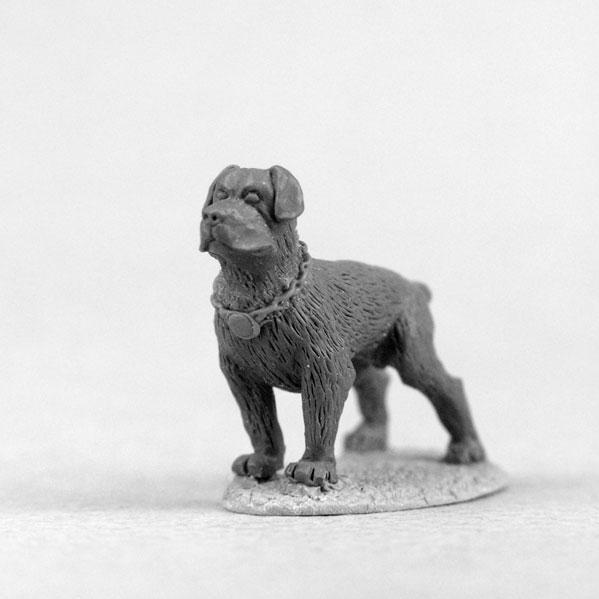 Bombshell Miniatures: Sidekicks - Rottweiler