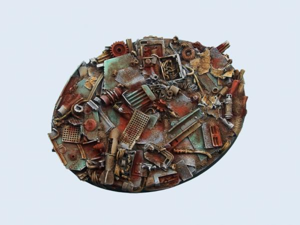 Battle Bases: Scrapyard Bases, 120mm Ellipse (1)