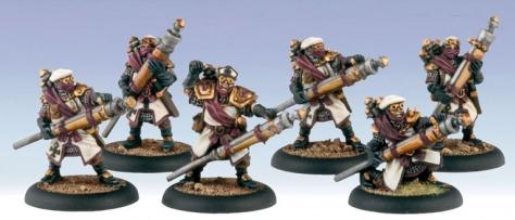 Warmachine: (The Protectorate Of Menoth) Deliverers Unit (6)