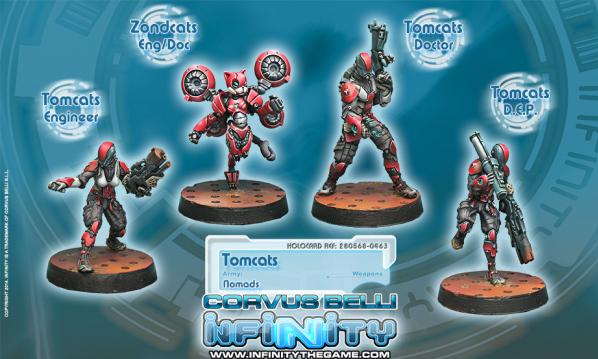 Infinity (#463) Nomads: Tomcats, Special Rescue Team