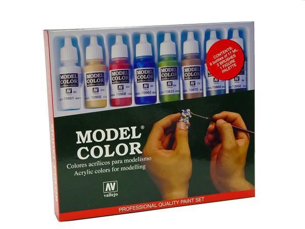 Model Color: Starter Paint Set (8)