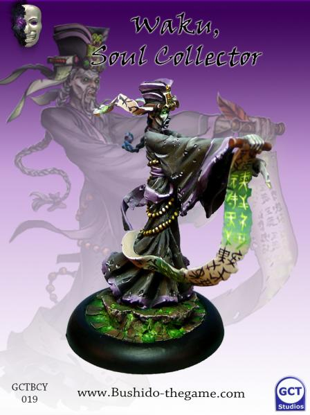 Bushido Miniatures: (Cult Of Yurei) Waku The Soul Collector
