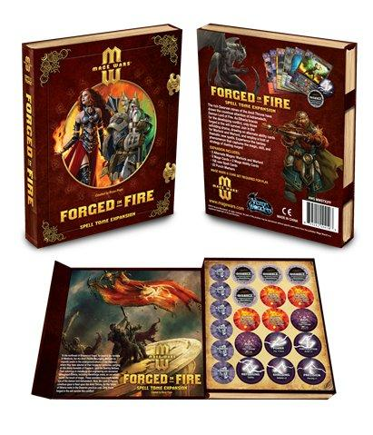 Mage Wars Expansion: Forged in Fire