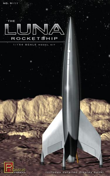 1/144 Scale: Luna Rocketship