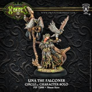 Hordes: (Circle Orboros) Una The Falconer