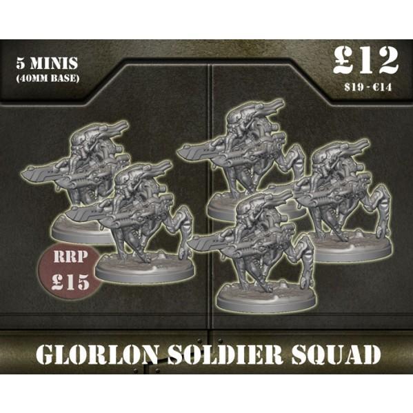Sentinel Games: Glorlon Soldiers squad
