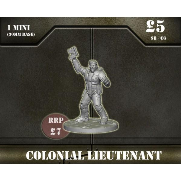 Sentinel Games: Colonial Lieutenant