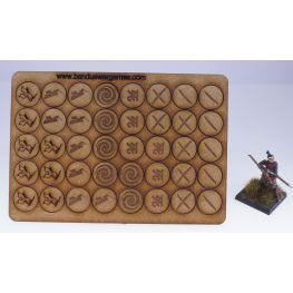 Bandua Accessories: Tokens Ronin
