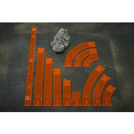 Bandua Accessories: Imperial Tokens (Orange)