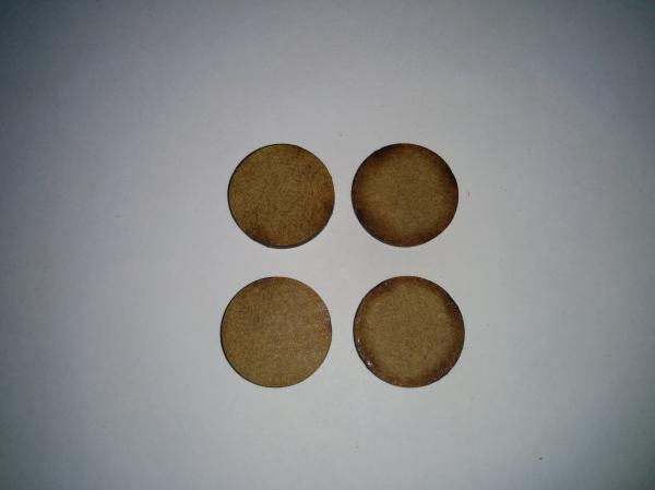 Bandua Accessories: 15mm Bag of Bases (620)