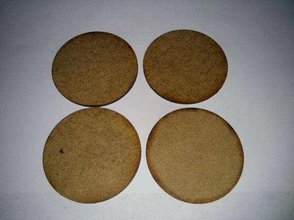 Bandua Accessories: 60mm Bag of Bases (70)