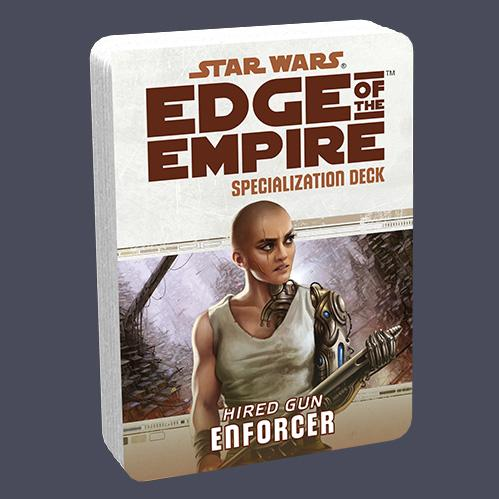 Edge of the Empire RPG: Specialization Deck - Enforcer