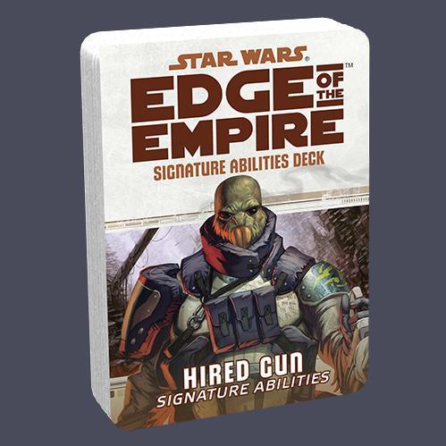 Edge of the Empire RPG: Signature Abilities Deck - Hired Gun