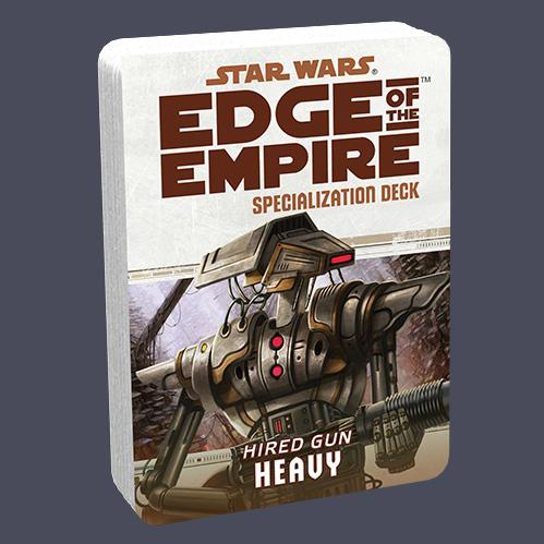 Edge of the Empire RPG: Specialization Deck - Heavy