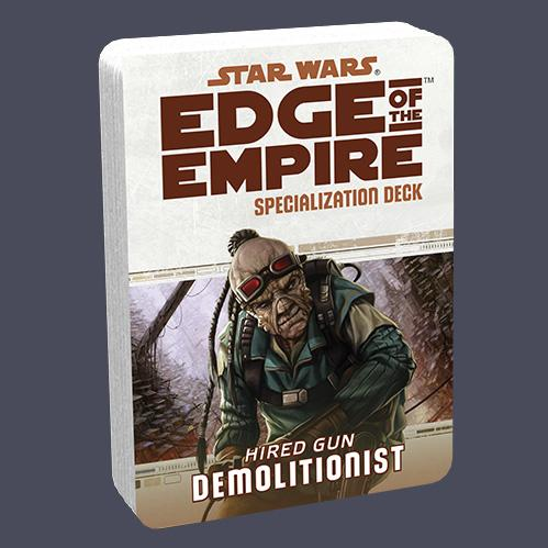 Edge of the Empire RPG: Specialization Deck - Demolitionist