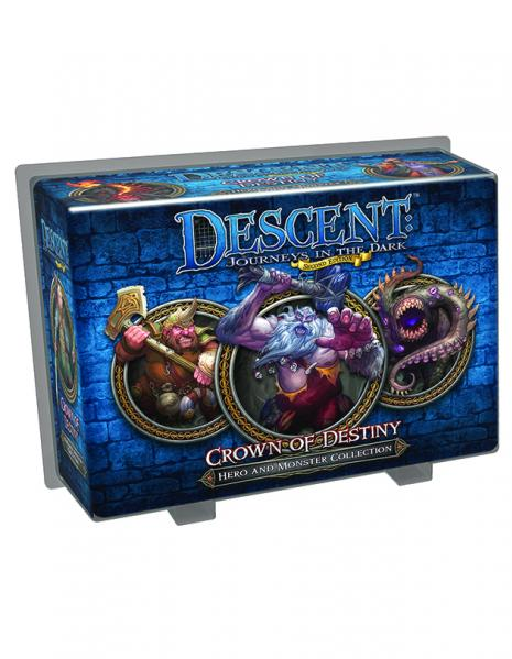 Descent: Crown of Destiny Hero and Monster Collection