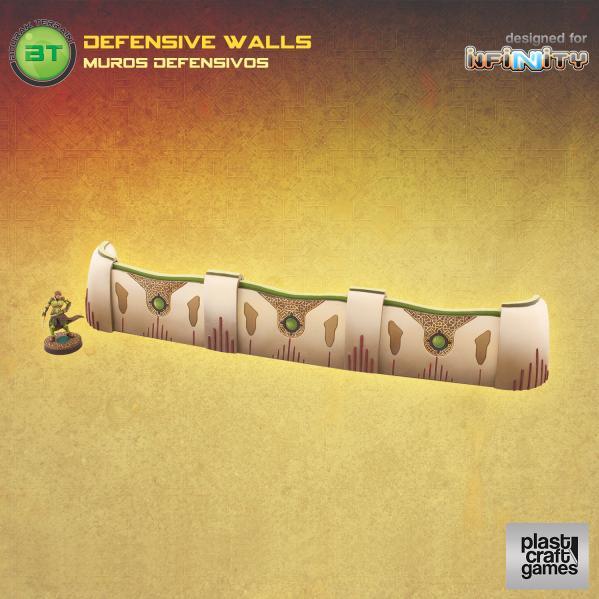 Infinity Terrain: Defensive Walls