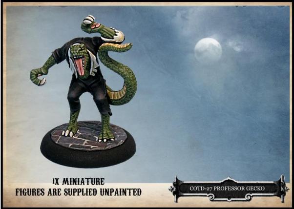 Empire of the Dead: Professor Gecko