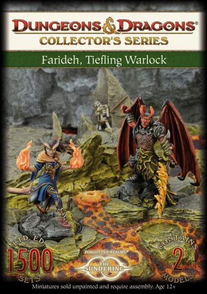 Dungeons & Dragons Collector's Series: Farideh, Tiefling Warlock