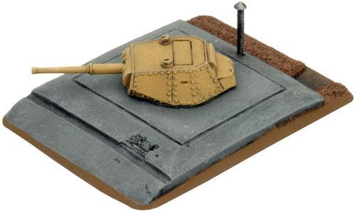 Flames of War - German: P40 Turret Bunker