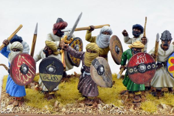 28mm Historical: Arab Spearmen & Archers