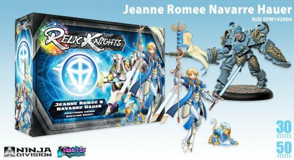Relic Knights - Shattered Sword: Jeanne Romee Navarre Hauer
