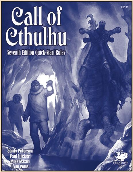 Call of Cthulhu RPG: QuickStart Rules