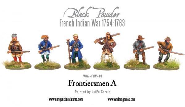 Black Powder (French-Indian War): Frontiersmen A