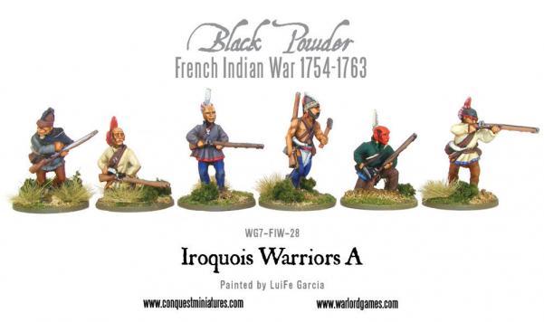 Black Powder (French-Indian War): Iroquois Warriors A