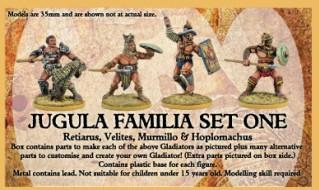 JUGULA: (Gladiators) Familia #1