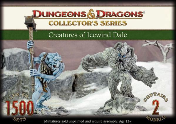 Dungeons & Dragons Collector's Series: Creatures of Icewind Dale