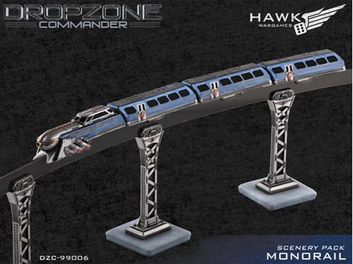 Dropzone Commander: Monorail Scenery Pack