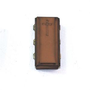 28mm Furniture: Light Wood Coffin 3