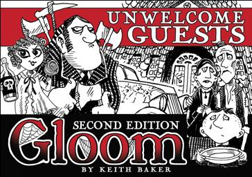 Gloom 2nd Edition Expansion: Unwelcome Guests