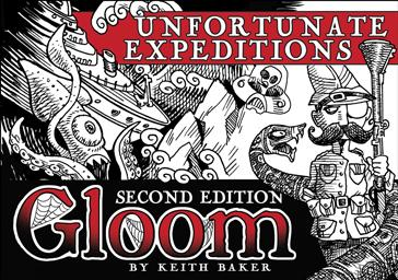 Gloom 2nd Edition Expansion: Unfortunate Expeditions