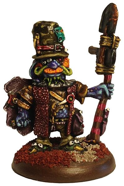 Low Life Miniatures: Occifer Gleech