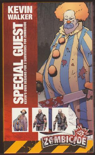 Zombicide: Guest Artist Survivor Sets - Special Guest Box 1 (Kevin Walker)