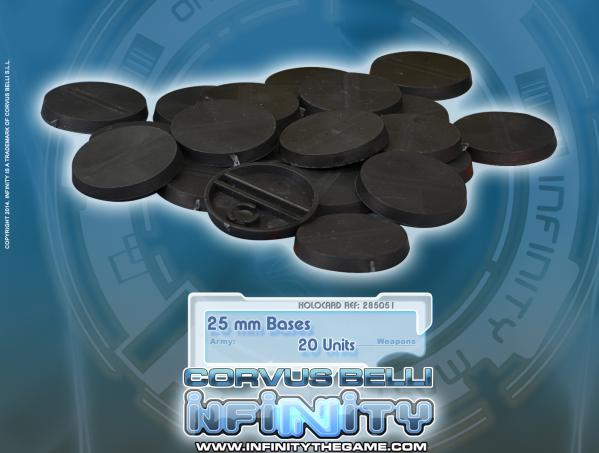 Infinity Accessories: 25mm Bases (20)