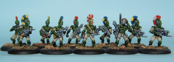 28mm Atlantis Imperium - Imperial Infantry: Battle Squad (10)