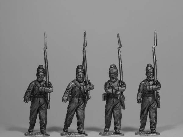 28mm Empire - Sikh Army: Infantry Marching in  ''Patka''