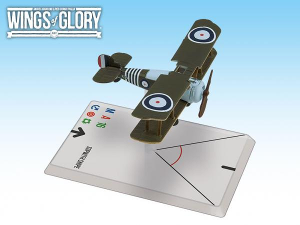 Wings Of Glory WWI Miniatures: Sopwith Snipe (Barker)