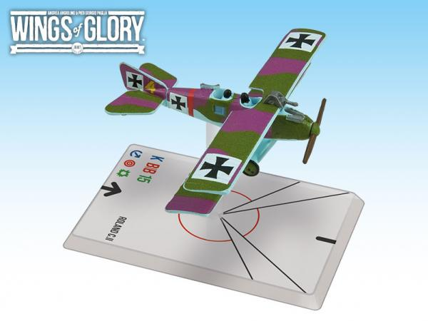 Wings Of Glory WWI Miniatures: Roland C.II (Luftstreitkrafte)