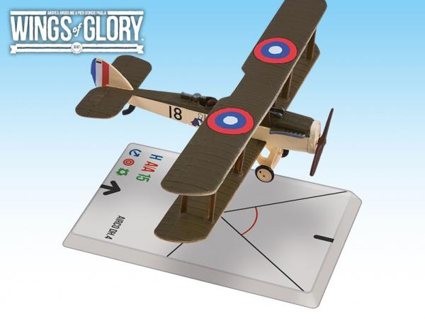 Wings Of Glory WWI Miniatures: Airco DH.4 (50th Squadron AEF)