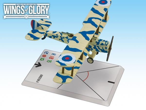 Wings Of Glory WWI Miniatures: Airco DH.4 (Cotton/Betts)