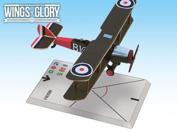 Wings Of Glory WWI Miniatures: Airco DH.4 (Bartlett/Naylor)