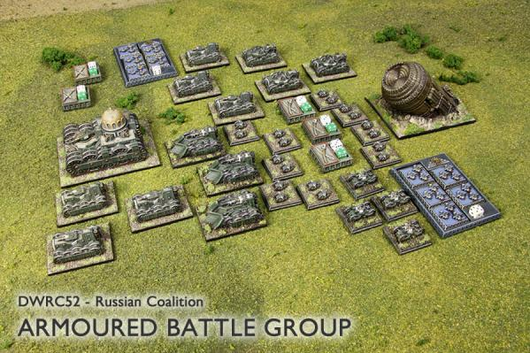 Dystopian Wars: (Russian Coalition) Armoured Battle Group (NEW)